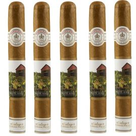 Montecristo White Vintage Connecticut No 3 NATURAL pack of 5