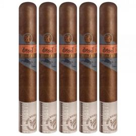 Diesel Whiskey Row Toro HABANO pack of 5