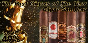 The Past Cigars of The Year Cigar Sampler