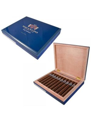 Macanudo Cru Royale Travel Humidor With Cigars