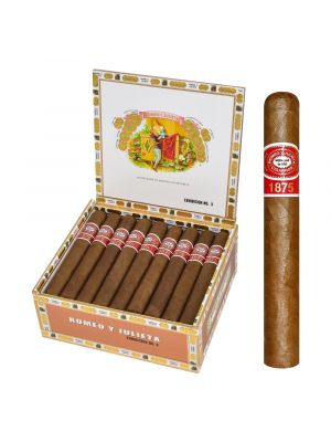 Romeo Y Julieta 1875 Exhibition No. 3