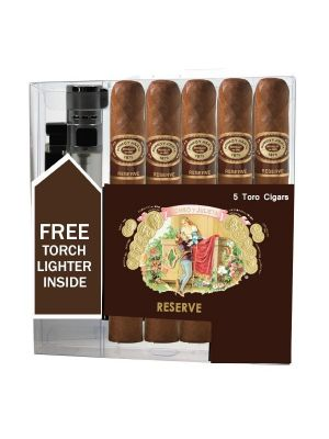 Romeo Y Julieta Reserve Toro Cigar Collection With Lighter