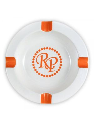 Rocky Patel Round Ashtray Orange