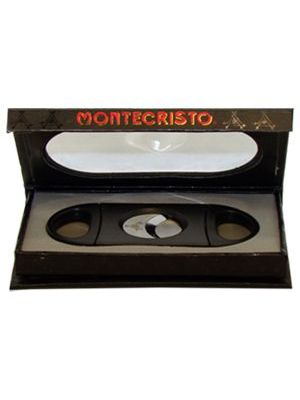 Montecristo Cutter Double Guillotine Black