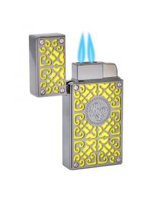 Rocky Patel Lighter Burn Double Torch Yellow