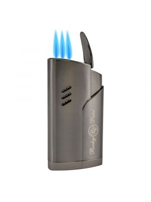 Rocky Patel Lighter Esquire Triple Torch Gunmetal