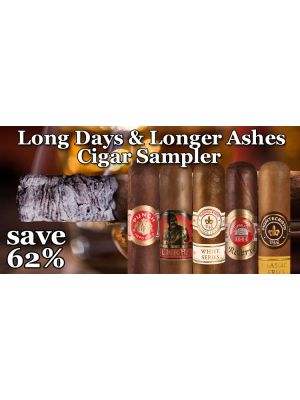Long Days and Longer Ashes Cigar Sampler