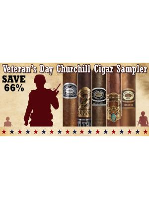 Veteran's Day Churchill Cigar Sampler