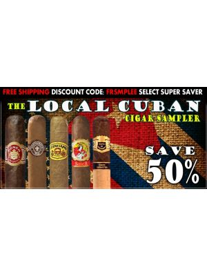 Local Cuban Cigar Sampler