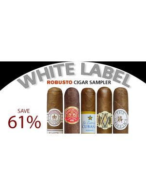 White Label Robusto Cigar Sampler