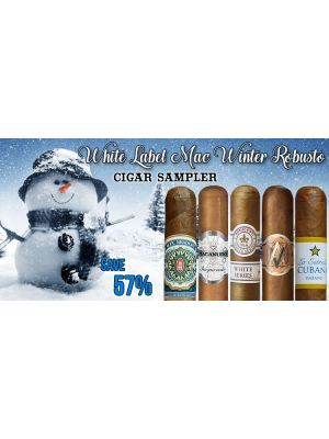 White Label Mac Winter Robusto Cigar Sampler