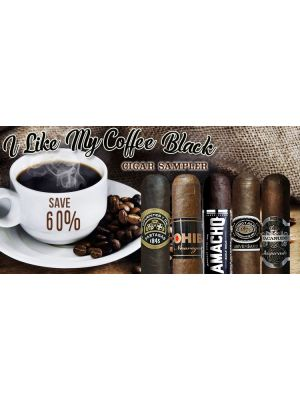 I Like My Coffee Black Cigar Sampler