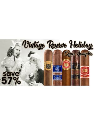 Vintage Reserve Holiday Cigar Sampler