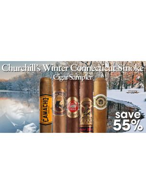 Churchill's Winter Connecticut Smoke Cigar Sampler