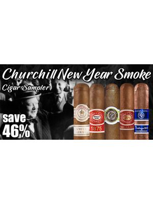 Churchill New Year Smoke Cigar Sampler