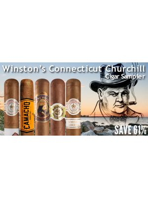 Winston's Connecticut Churchill Cigar Sampler