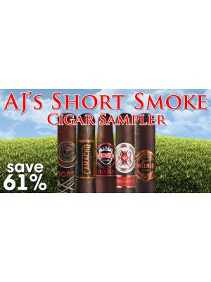 AJ's Short Smoke Cigar Sampler