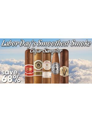 Labor Day's Smoothest Smoke Cigar Sampler