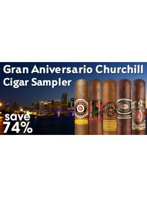 Gran Aniversario Churchill Cigar Sampler