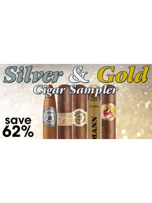 Silver and Gold Cigar Sampler