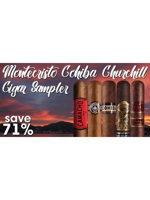 Montecristo Cohiba Churchill Cigar Sampler