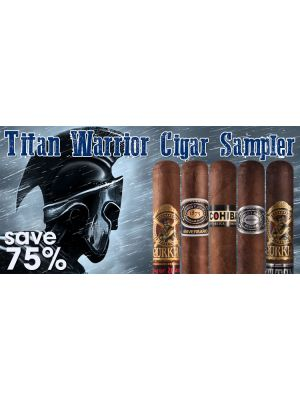 Titan Warrior Cigar Sampler