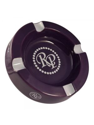 Rocky Patel Round Ashtray Dark Purple