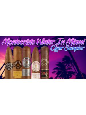 Montecristo Winter In Miami Cigar Sampler