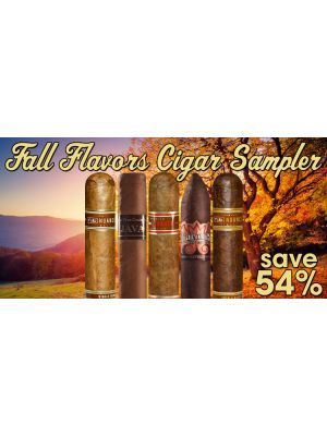 Fall Flavors Cigar Sampler