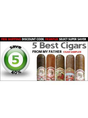 5 Best Cigars From My Father Cigar Sampler