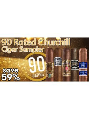 90 Rated Churchill Cigar Sampler