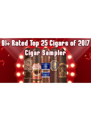 91 Plus Rated Top 25 Cigars Of 2017 Cigar Sampler