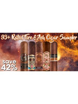 93 Plus Rated Fire and Ash Cigar Sampler
