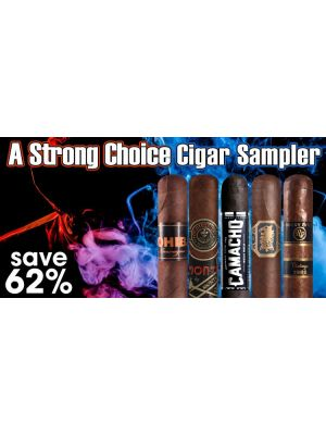 A Strong Choice Cigar Sampler