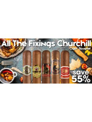 All The Fixings Churchill Cigar Sampler