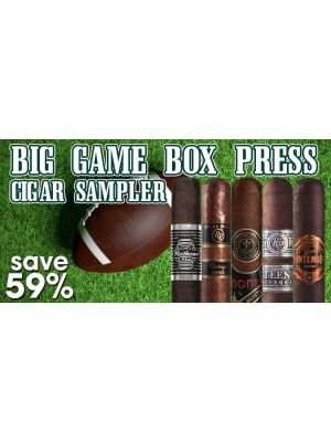 Big Game Box Press Cigar Sampler