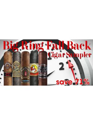 Big Ring Fall Back Cigar Sampler
