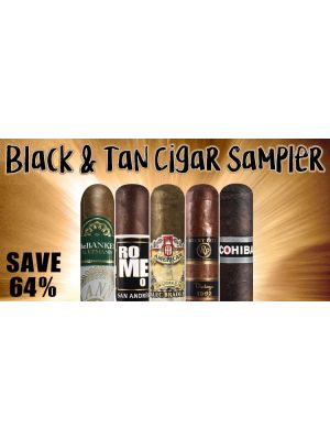 Black and Tan Cigar Sampler