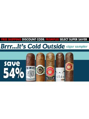 Brrr...it's Cold Outside Cigar Sampler