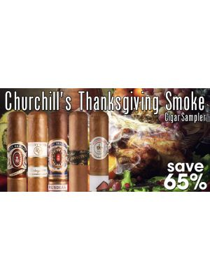 Churchill's Thanksgiving Smoke Cigar Sampler
