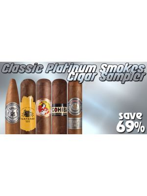 Classic Platinum Smokes Cigar Sampler