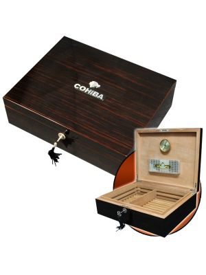 Cohiba Humidor 75 Cigar Dark Walnut