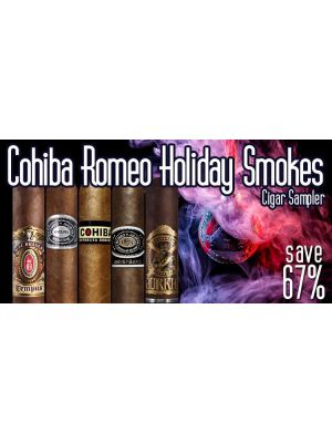 Cohiba Romeo Holiday Smokes Cigar Sampler