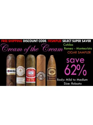 Cream Of The Cream Cigar Sampler