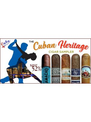 Cuban Heritage Cigar Sampler
