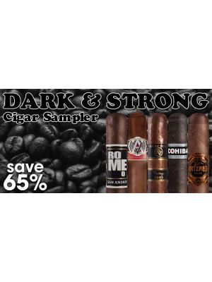 Dark and Strong Cigar Sampler