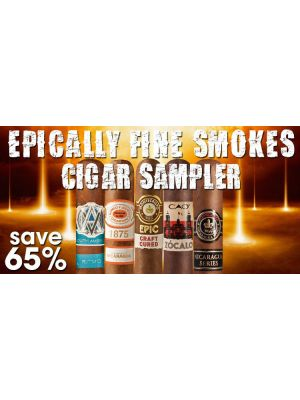 Epically Fine Smokes Cigar Sampler