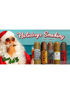 Holidays Smoking Cigar Sampler