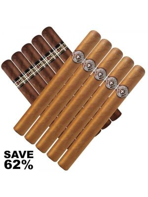 Double Stack Monte Classic Cuban Churchill vs Cohiba Classic Cuban Churchill