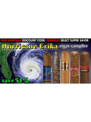Hurricane Erika Cigar Sampler